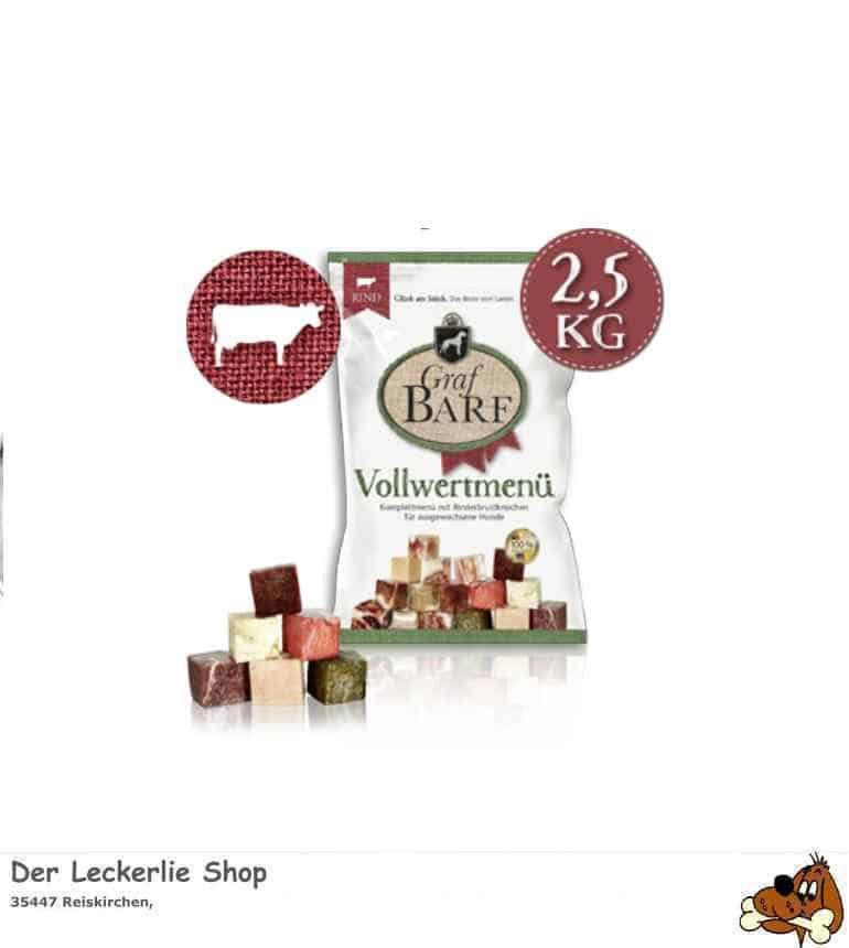 Graf Barf® Vollwertmenü Rind 2500g