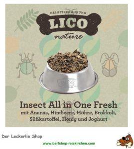 Insect-menü von lico
